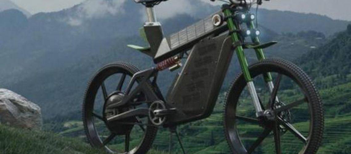 e-bike a pannelli solari